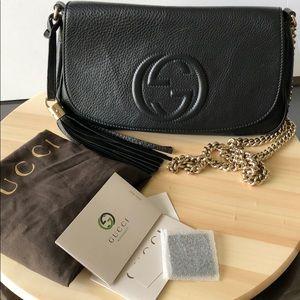 Gucci soho crossbody bag authentic